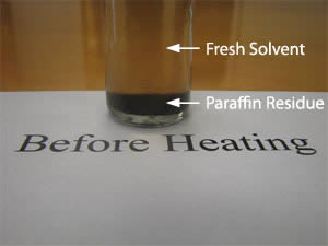 Paraffin Removal Step 2
